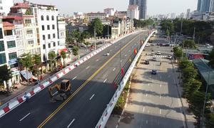 Cầu vượt hơn 500 tỷ đồng trước ngày thông xe