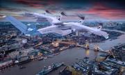 Công ty Anh hé lộ mẫu taxi bay 8 cánh quạt
