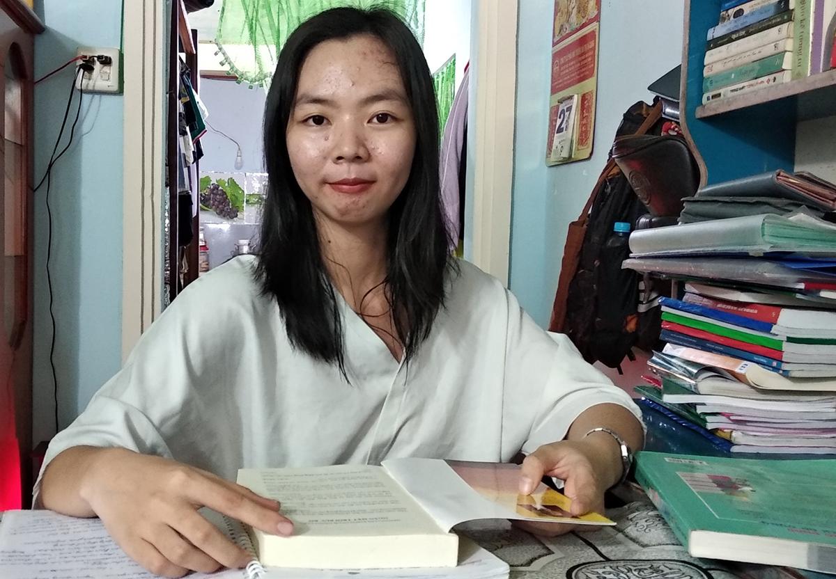 Nữ sinh Dương Ngọc Trâm. Ảnh: An Phú