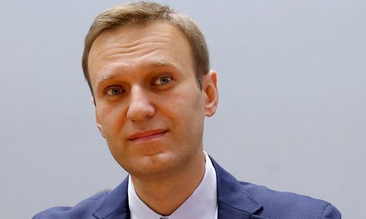 Lãnh đạo đối lập Nga Alexei Navalny dự một sự kiện ở Pháp tháng 11/2018. Ảnh: Reuters.