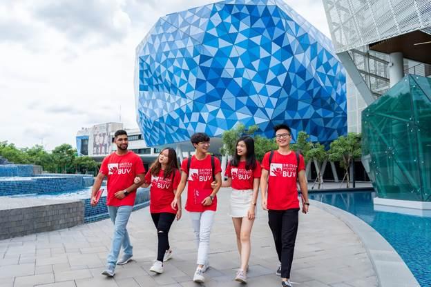 BUV mở rộng cánh cửa cho sinh viên Việt Nam tiếp cận nền giáo dục toàn cầu.