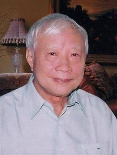 Giáo sư Đặng Đình Áng.