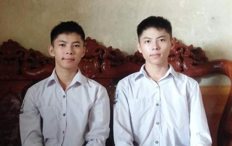 Hải (bên phải) và Hoàng.