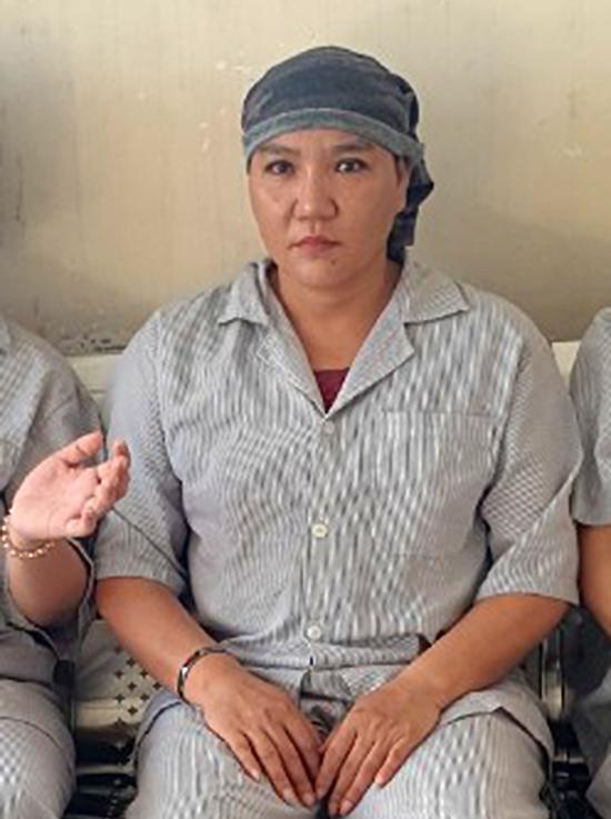 Bà Nữ tại tại Bệnh viện Tâm thần Trung ương 2. Ảnh: Gia đình cung cấp.