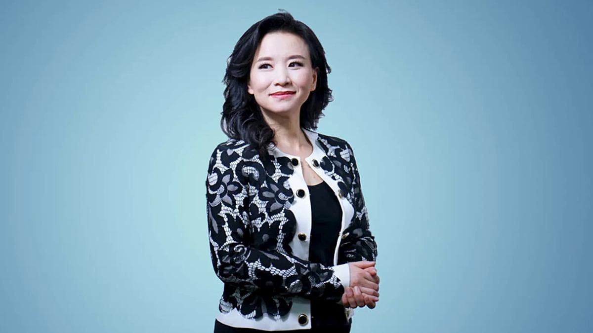 Cheng Lei, người dẫn chương trình của CGTN. Ảnh: CGTN.