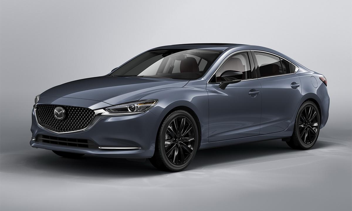 Mazda6 2021 bổ sung bản Carbon Edition. Ảnh: Mazda