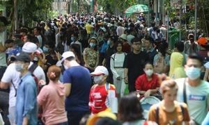 Khu vui chơi Sài Gòn đông khách