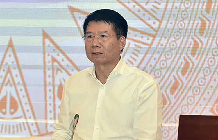 Ông Trương Quốc Cường, Thứ trưởng Y tế. Ảnh: Đình Trung