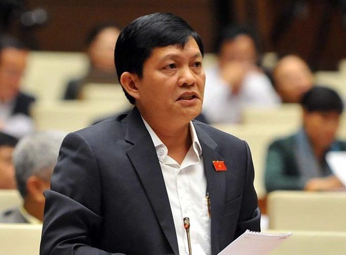 Đại biểu Phạm Phú Quốc. Ảnh: Trung tâm báo chí Quốc hội.
