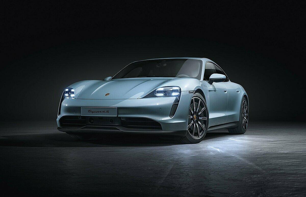 Thiết kế của Porsche Taycan.