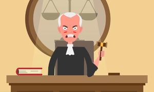 Chuyện lạ xảy ra tại tòa án Mỹ
