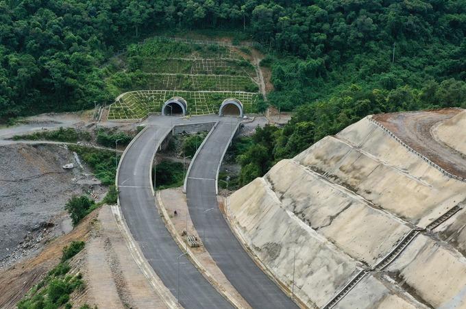 Cao tốc La Sơn - Túy Loan (Thừa Thiên - Huế) sẽ kết nối với cao tốc Bắc Nam. Ảnh: Võ Thạnh.