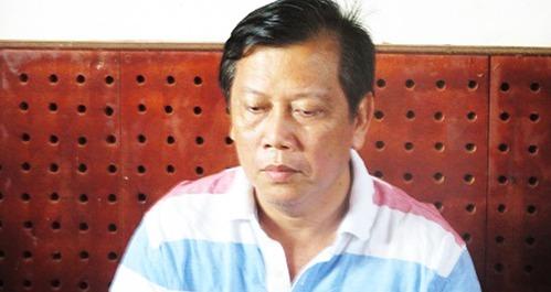 Trịnh Sướng lúc bị bắt, giữa năm 2019. Ảnh: Bộ Công an.