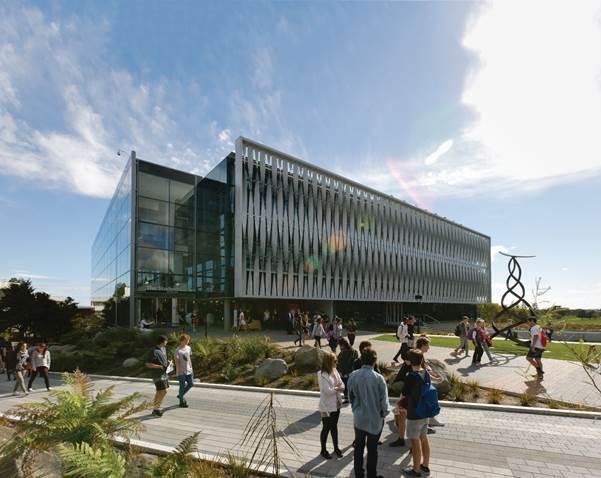 Đại học Waikato, Thành phố Halminton, New Zealand.