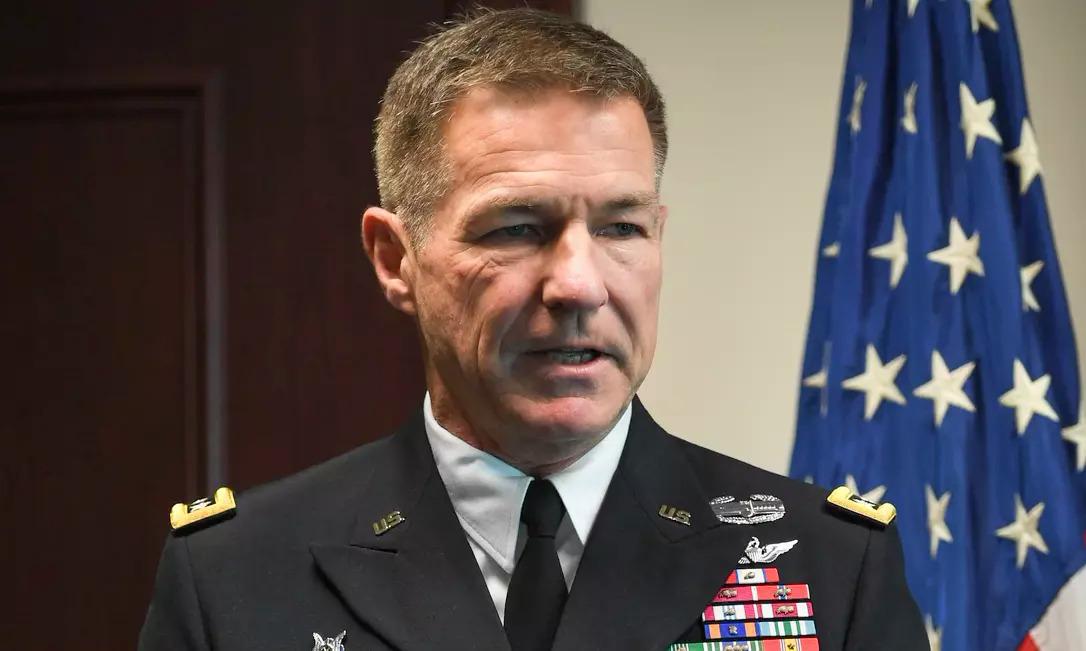 Tướng McConville trong một cuộc họp năm 2019. Ảnh: Army Times.
