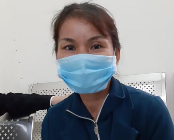 Bà Nguyễn Thị Thảo tại tòa.
