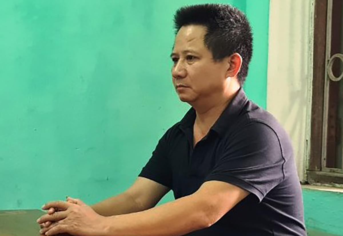 Thiện tại cơ quan điều tra. Ảnh: VKS Bắc Ninh.