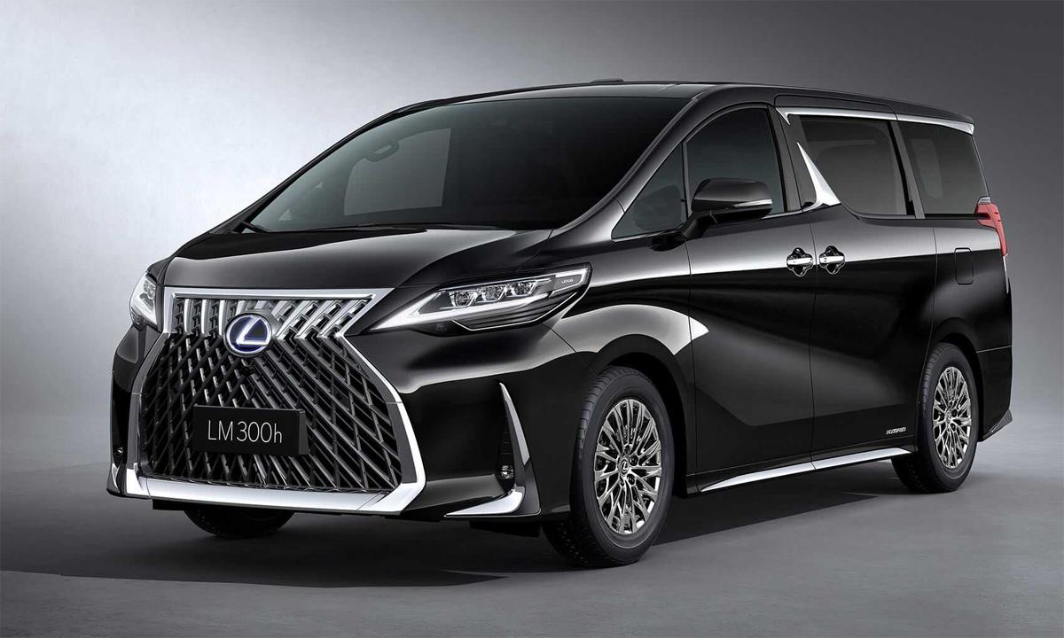 Lexus LM 300h - minivan hạng sang hiện bán tại Trung Quốc. Ảnh: Lexus