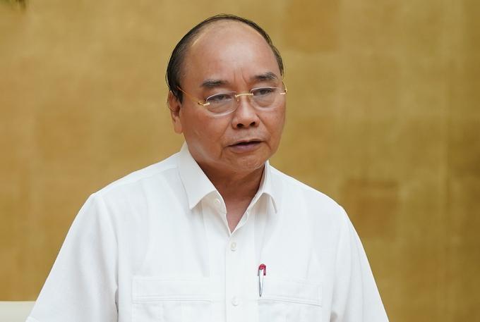 Thủ tướng Nguyễn Xuân Phúc. Ảnh: Quang Hiếu