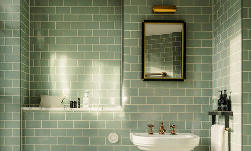 Thiết kế phòng tắm mới dành cho bố mẹ