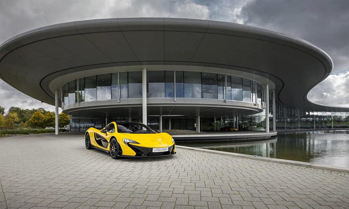 Bán trụ sở chính, nhưng McLaren có kế hoạch thuê lại chính nơi này để làm văn phòng như hiện nay. Ảnh: McLaren