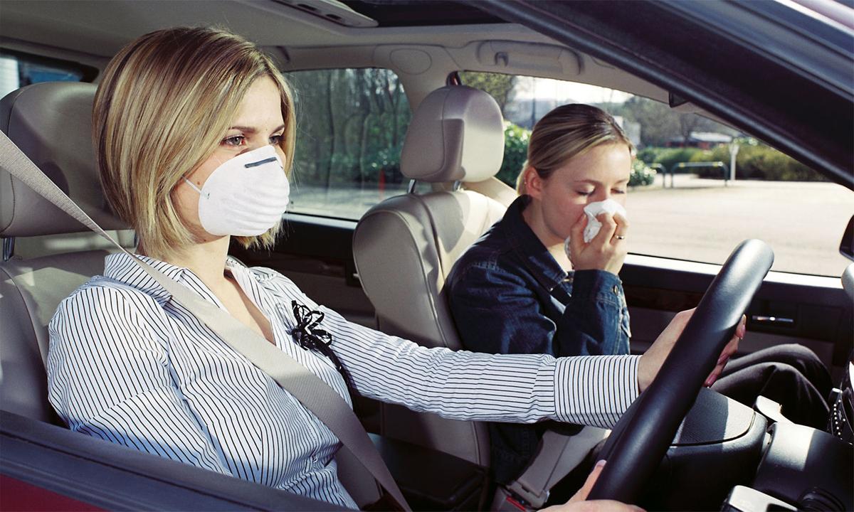 Mùi xe mới có thể khiến ai đó phát ốm. Ảnh: Naver