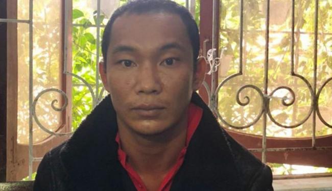 Nghi can Lò Văn Thôn. Ảnh: Lam Sơn.