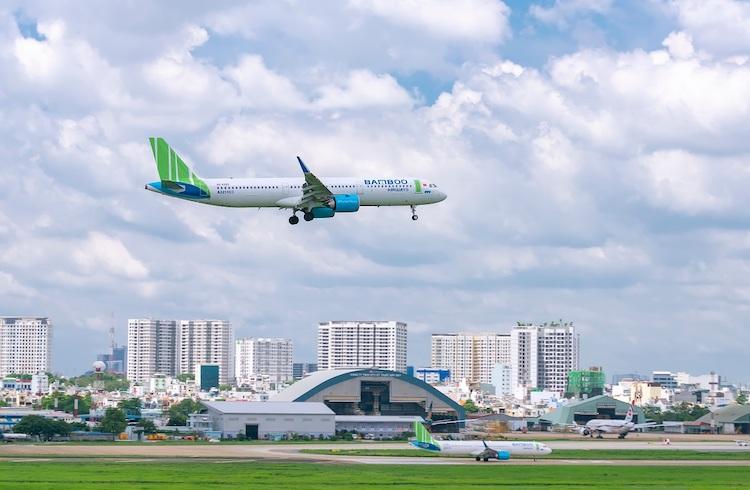 Máy bay A321NEO của Bamboo Airways, thành viên của Tập đoàn FLC.