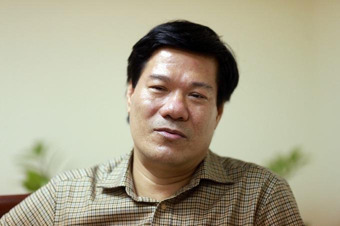 Ông Nguyễn Nhật Cảm trước khi bị bắt. Ảnh: Tất Định