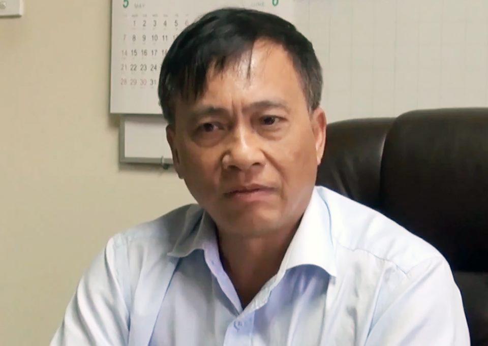 Ông Trần Quốc Tuấn, Nguyên giám đốc ngân hàng nhà nước tỉnh Đồng Nai, khi còn đương chức năm 2017. Ảnh: Thái Hà.