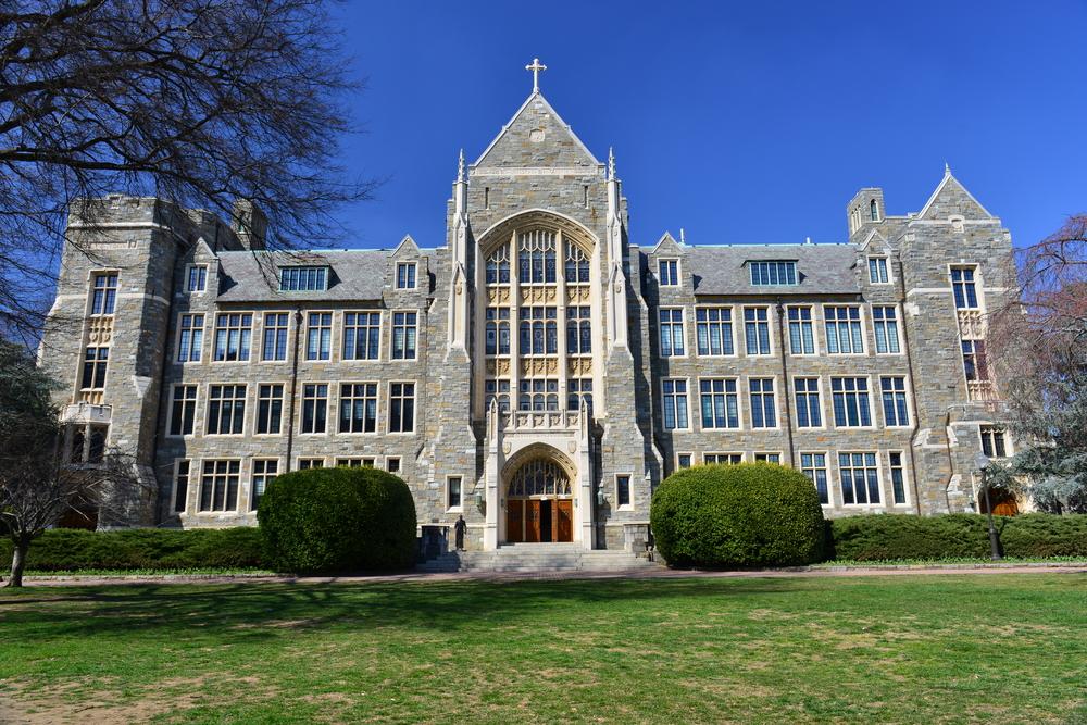 Đại học Georgetown ở Thủ đô Washington DC, Mỹ. Ảnh: Shutterstock