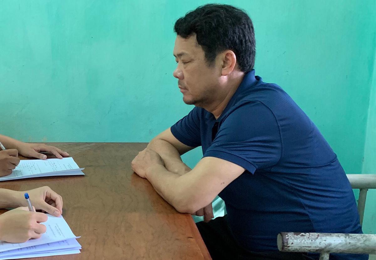 Ông Sướng tại cơ quan điều tra. Ảnh: VKSND Bắc Ninh.