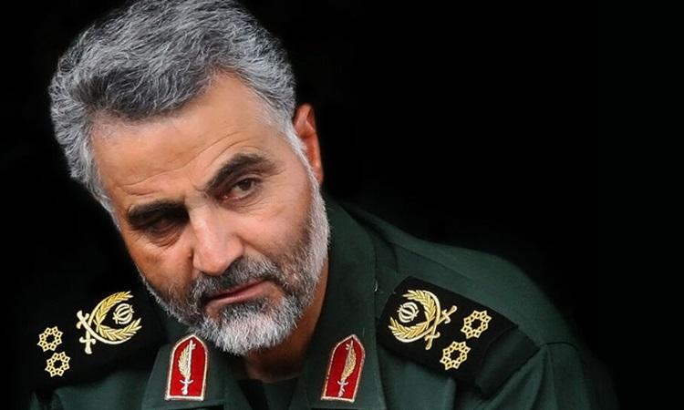 Tướng Iran Qassem Soleimani, người bị hạ sát trong cuộc không kích bằng máy bay không người lái của Mỹ hồi tháng 1. Ảnh: Middle East Monitor.