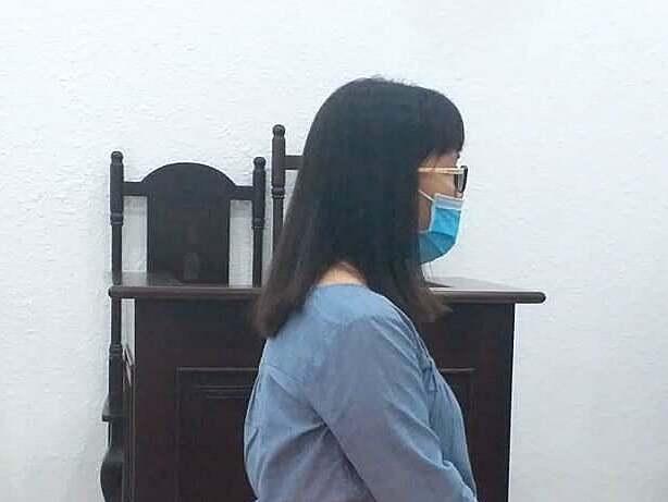 Bị cáo Giang tại phiên xét xử ngày 20/8.Ảnh: Tư Viễn