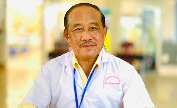 PGS.TS Nguyễn Huy Nga, nguyên Cục trưởng Y tế dự phòng. Ảnh: Nhân vật cung cấp