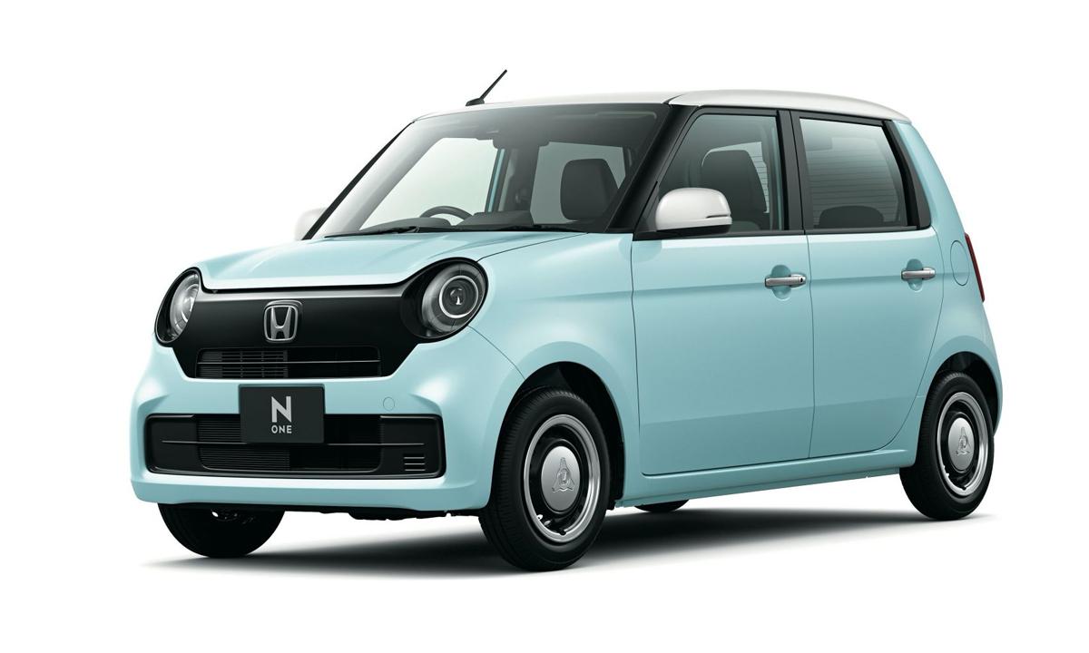 N-One thế hệ mới vẫn giữ kiểu dáng cũ, nhưng thay đổi ở chi tiết thiết kế. Ảnh: Honda