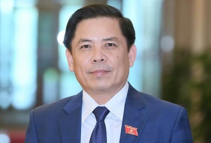Bộ trưởng Giao thông Vận tải Nguyễn Văn Thể: Ảnh: Hoàng Phong
