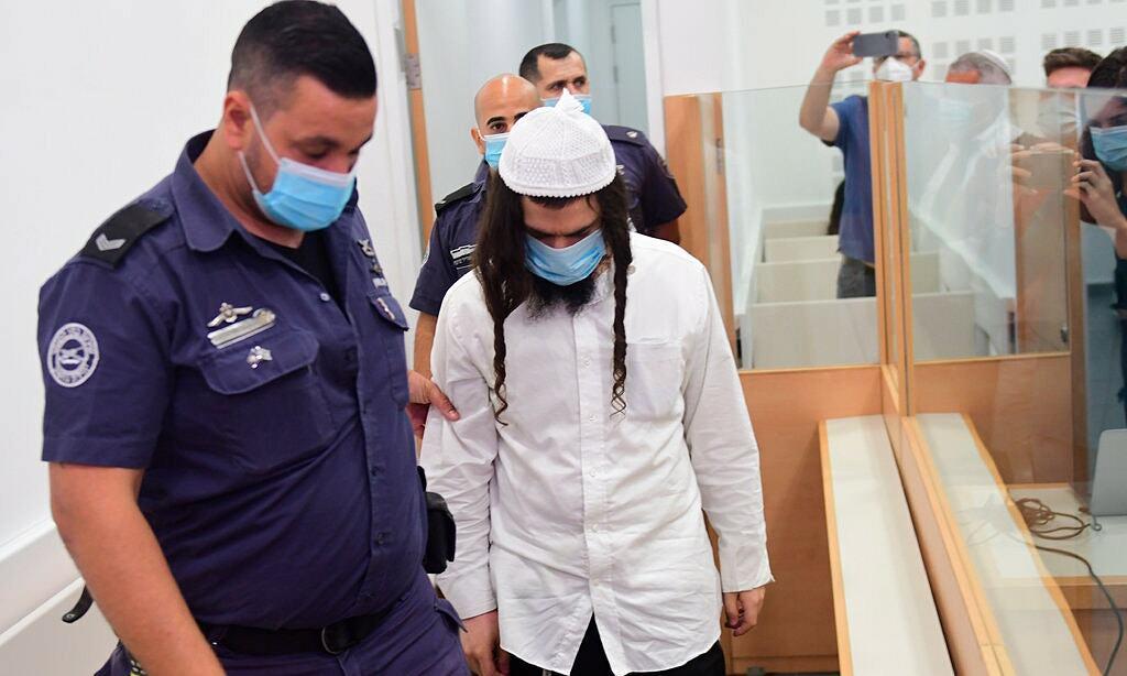 Amiram Ben-Uliel đến tòa án ngày 18/5. Ảnh: Pool.