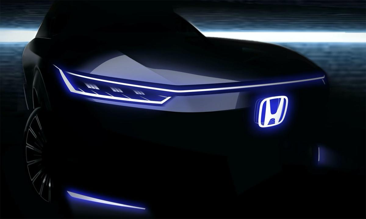 Honda hé lộ concept điện mới