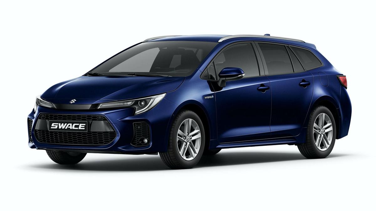 Swace cũng có ngoại hình dạng wagon giống Corolla Touring Sports. Ảnh: Suzuki