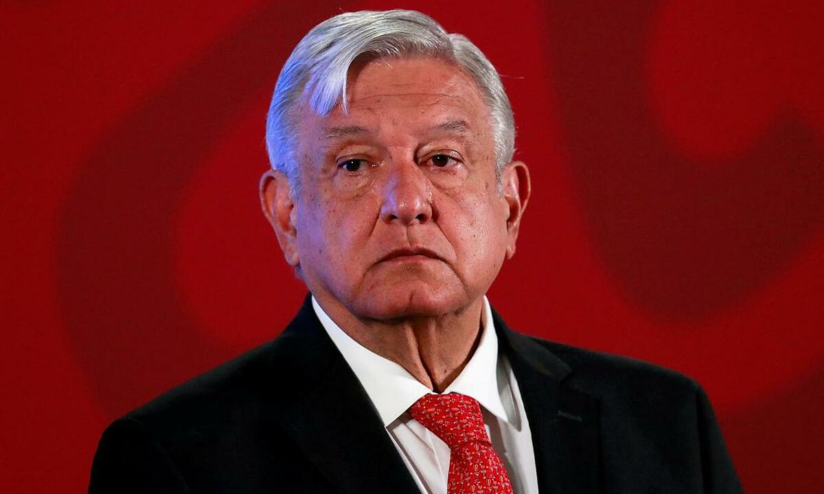 Tổng thống Mexico Andres Manuel Lopez Obrador tại họp báo ở Mexico City, ngày 17/3. Ảnh: Reuters.