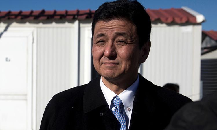 Nobuo Kishi, em trai cựu thủ tướng Nhật Shinzo Abe. Ảnh: Kyodo News.