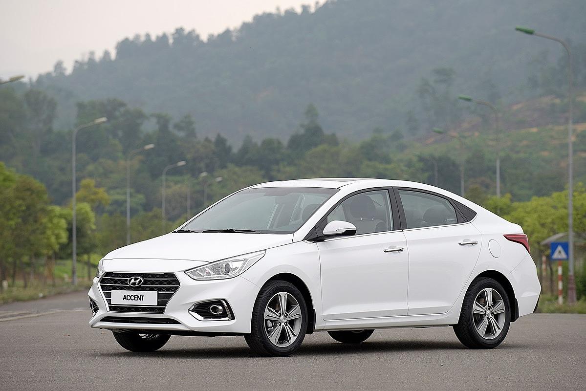 Hyundai Accent lăn bánh tại Việt Nam. Ảnh: TC Motor