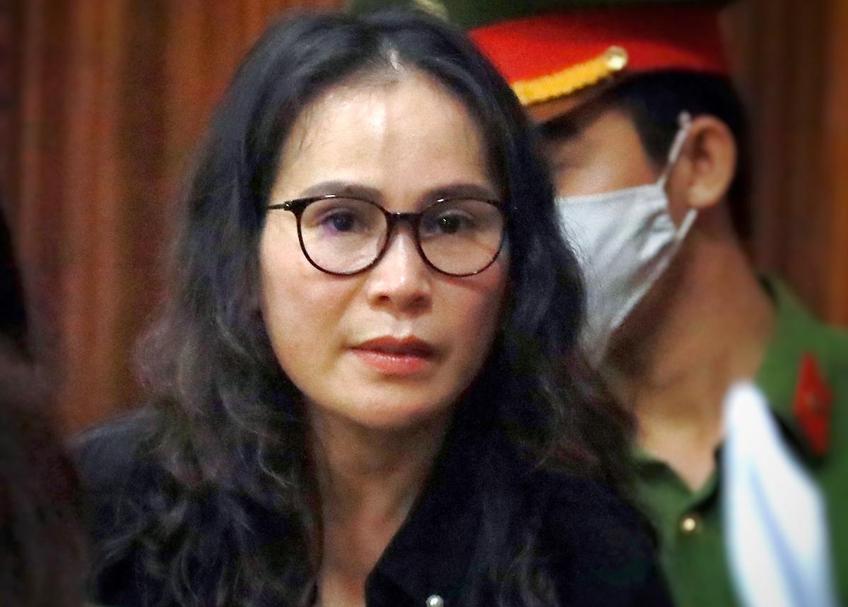 Lê Thị Thanh Thúy - Chủ tịch Công ty Hoa Tháng Năm. Ảnh: Hữu Khoa.
