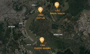 Ba cây cầu nối TP HCM và Đồng Nai