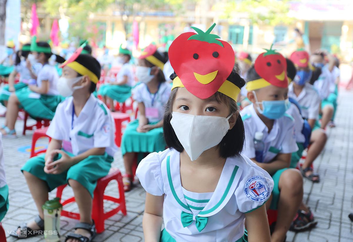 Ngày mai 18/9, học sinh Quảng Nam được nghỉ học để phòng chống bão. Ảnh: Đắc Thành.