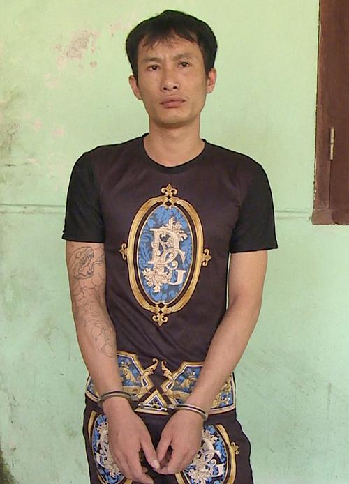 Nghi can Lê Thanh Thành. Ảnh: Lam Sơn.