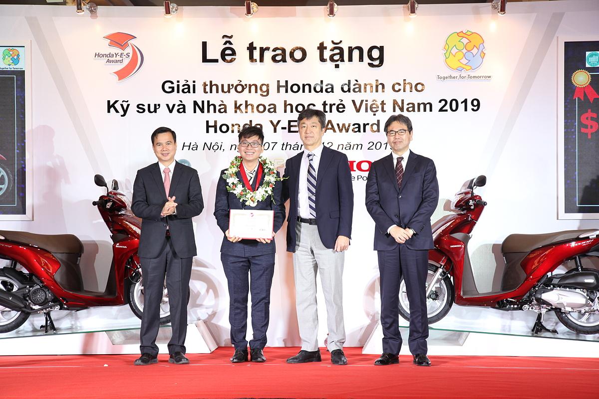 Giải thưởng Honda dành cho sinh viên năm 2019.