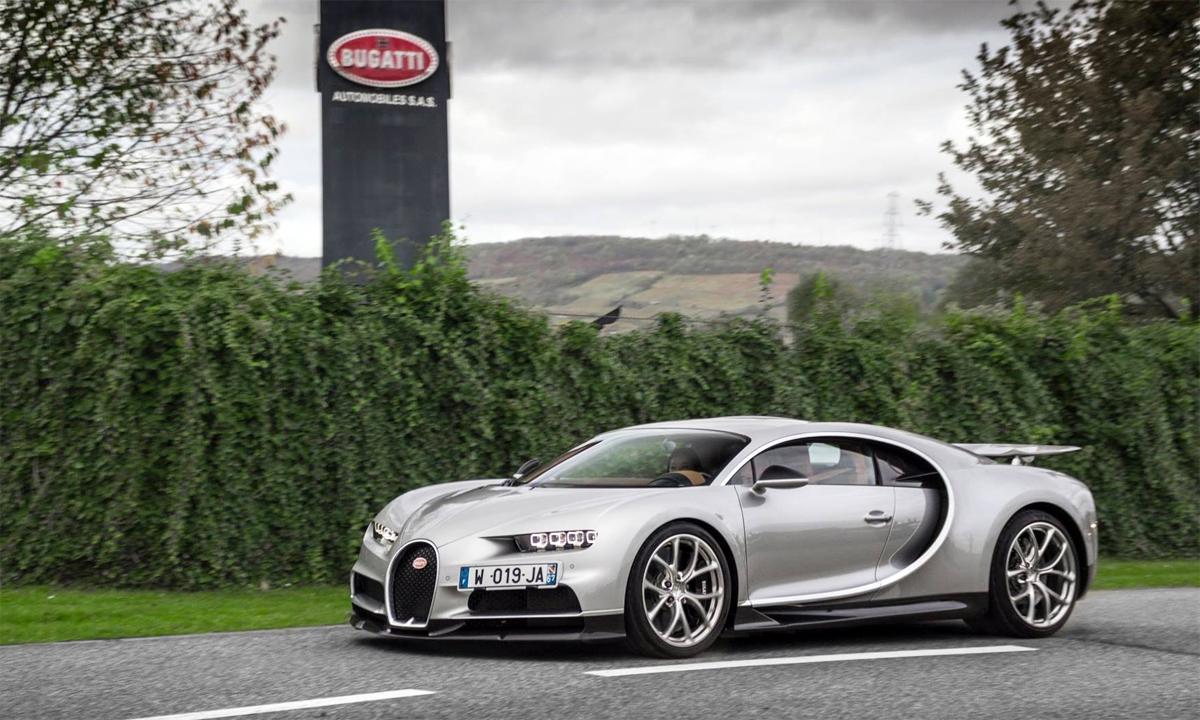 Chiron - siêu xe mới nhất của Bugatti. Ảnh: L.B Photography