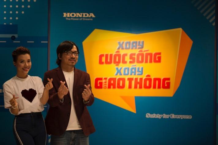 Chương trình tuyên truyền ý thức đảm bảo an toàn giao thông của Honda.